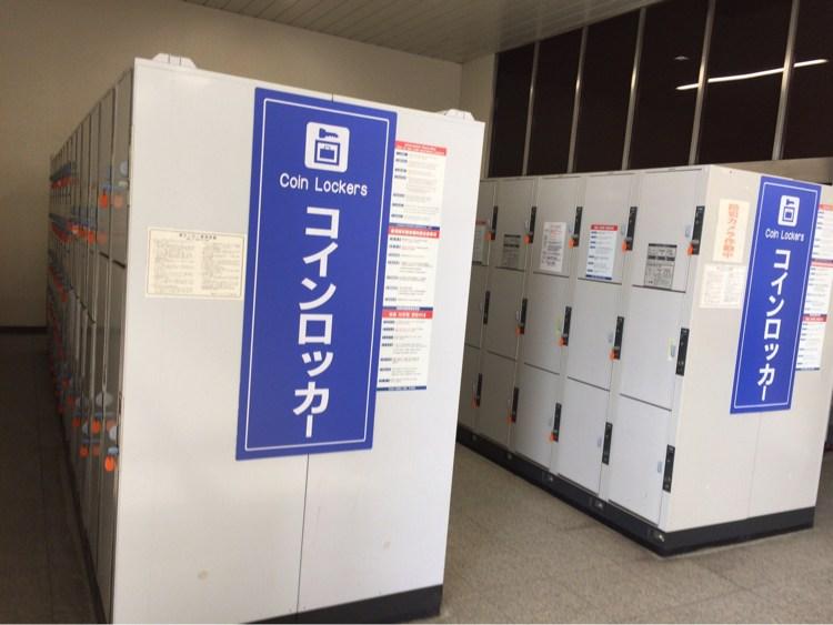 新神戸駅のコインロッカー