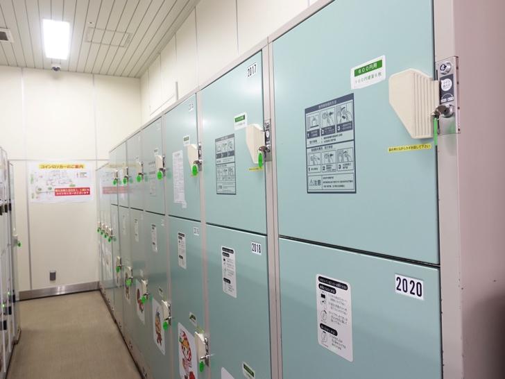 長野駅のコインロッカー