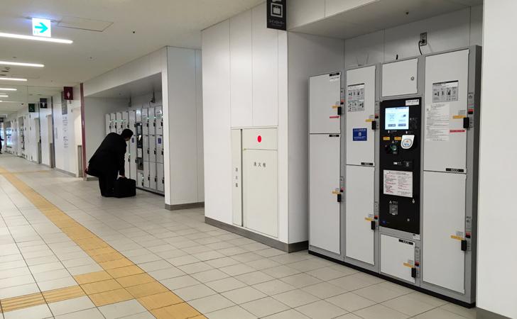 JR名古屋駅市バスターミナルコインロッカー