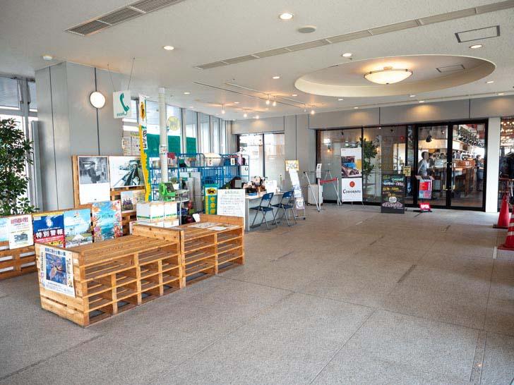 JR尾道駅西 ウォーターフロントビルの手荷物預かり所
