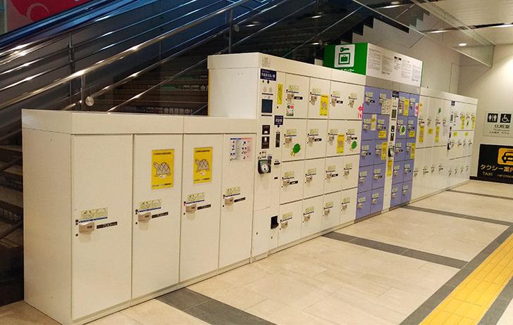 盛岡駅1F南側のコインロッカー