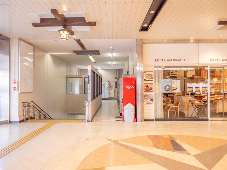 倉敷駅 コインロッカーの入口