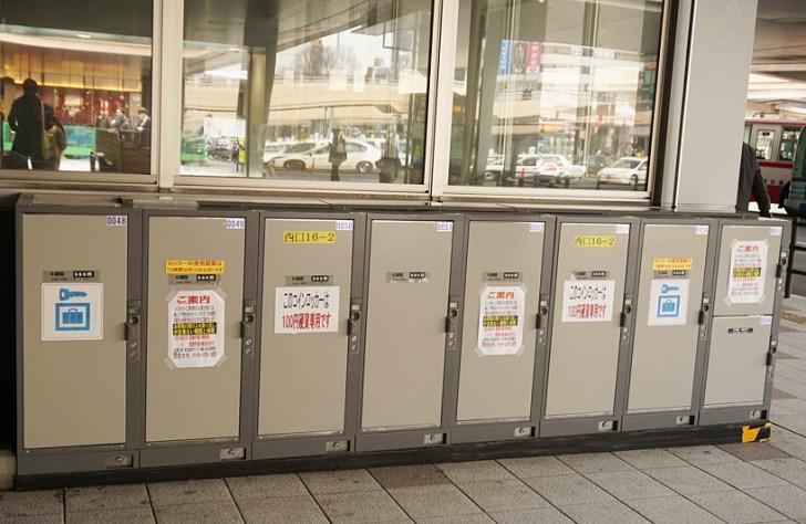 仙台駅コインロッカー 1階タクシー乗り場前3