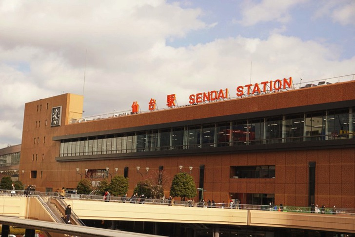 仙台駅外観
