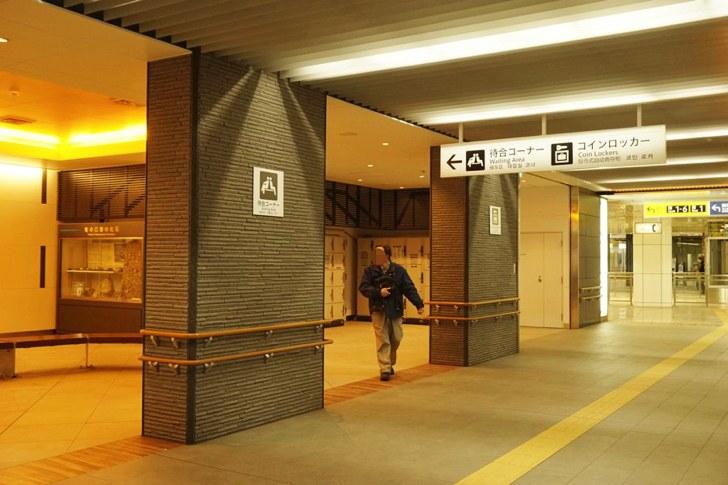 地下鉄仙台駅東改札待合室