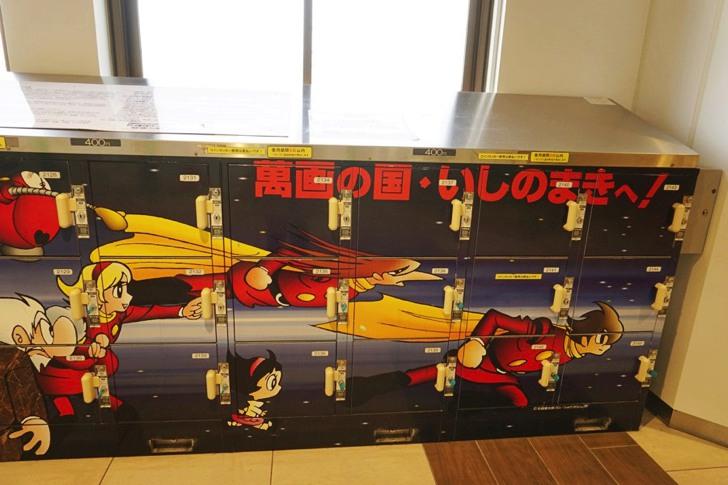 JR仙台駅2階中央改札内コインロッカー