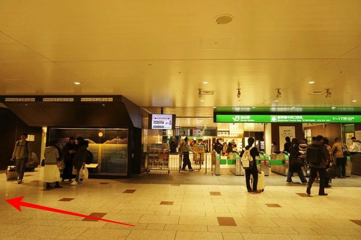 JR仙台駅3階新幹線中央改札
