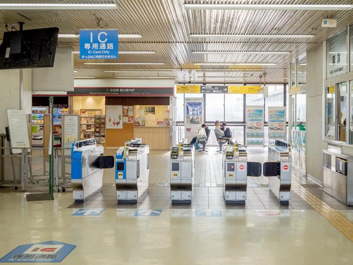 新倉敷駅 在来線改札