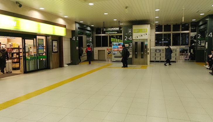 JR高崎駅改札内