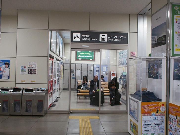 JR東室蘭駅コインロッカー02