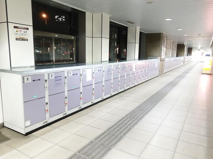 帯広駅のコインロッカー