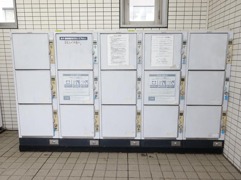 阪急御影駅のコインロッカー2