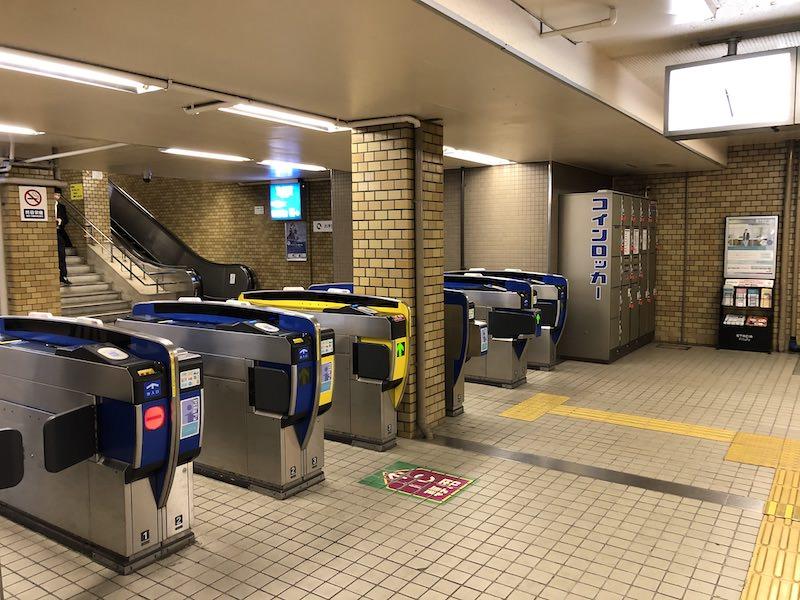阪神芦屋駅コインロッカーの場所