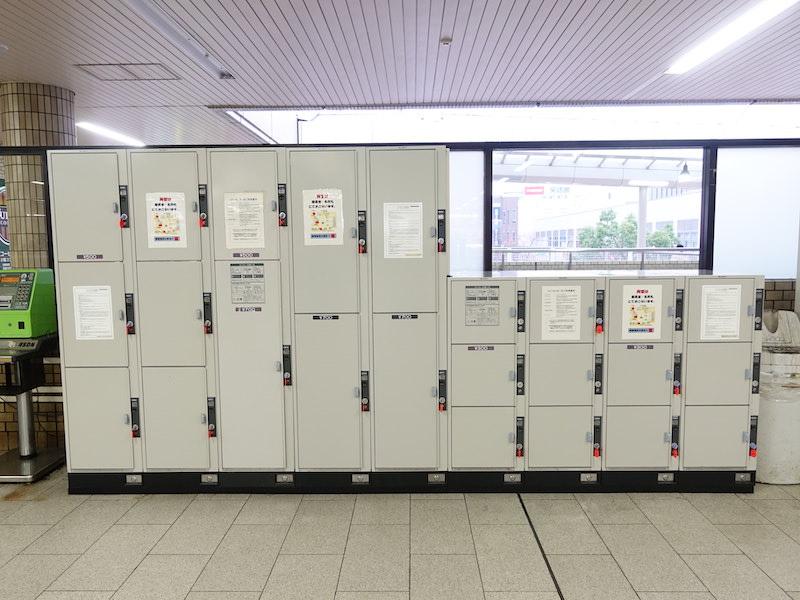 西宮北口駅のコインロッカー1