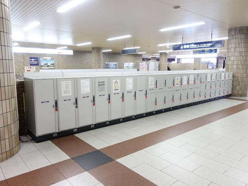 西宮北口駅のコインロッカー2