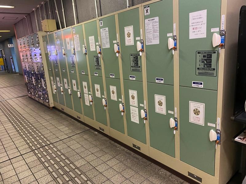 電鉄富山駅のコインロッカー
